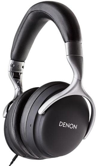 Denon AH-GC30 bezdrátová sluchátka, černá - zánovní