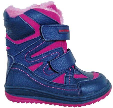 dievčenské zimné topánky Fari 19 modré