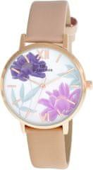 Bentime Dámské květinové hodinky 005-9MB-PT11894U