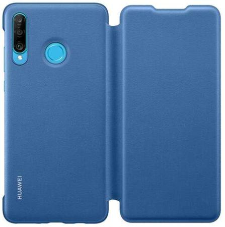 Huawei Flipové pouzdro pro P30 Lite Blue, 51993080