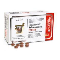 Pharma Nord Bioaktivní Selen+Zinek FORTE 60+30 tbl. EXTRA