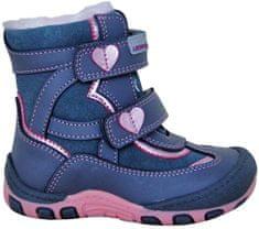 Protetika dievčenské zimné topánky Sabina