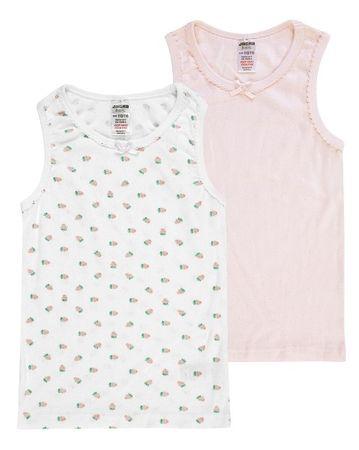 Jacky 2 db-os lány trikó szett 86 - 92 rózsaszín