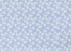 Patifix Samolepiaca fólia dekoratívna 15-6410 MODRÉ KVETY - šírka 45 cm