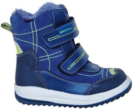 chlapčenské zimné topánky Luky 19 modré