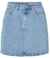 Vero Moda Kathy Hr Short Denim szoknya Mix Light Blue Denim