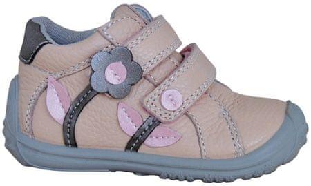 Protetika dívčí membránová obuv Samanta 22 světle hnědá