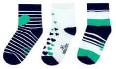 Boboli dievčenská sada troch párov ponožiek
