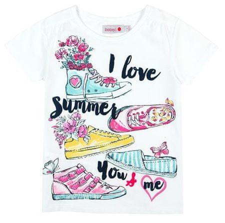 Boboli dievčenské tričko 110 viacfarebná