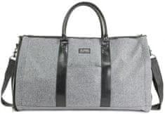 PKG Cestovní taška Rosedale PKG-ROSEDALE-WOOL, šedá vlna