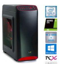 PCX stolno računalo EXACT i5-9400F/8GB/SSD 250GB+1TB HDD/GTX1650/W10H + Darilo (PCX EXACT GAMER S1 W)