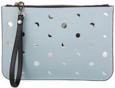 Giulia Monti ženska večerna torbica, svetlo modra