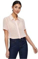 Vero Moda Dámska košeľa Dotty SS Shirt WVN Pristine