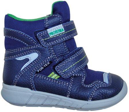 chlapčenské zimné topánky Santo 27 modrá