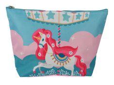 DUE ESSE Dětská kosmetická taška, jednorožec - kolotoč