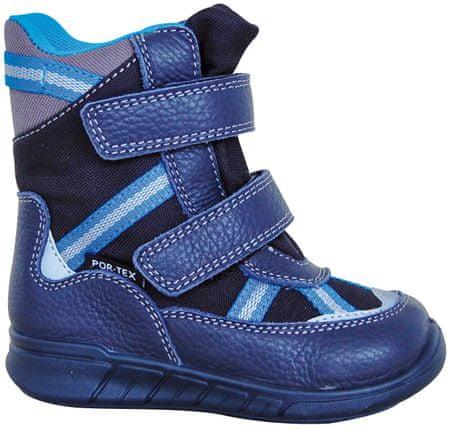 chlapčenské zimné topánky Laran 27 modrá