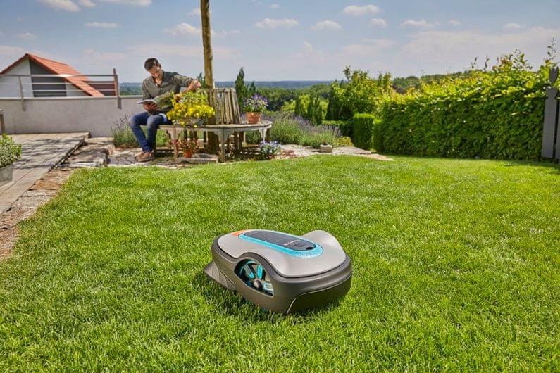 Systém SensorCut zajistí perfektně střižený trávník