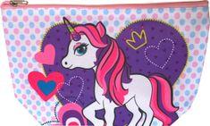 DUE ESSE Detská kozmetická taška, jednorožec - srdce
