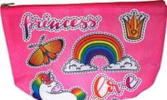 DUE ESSE Dětská kosmetická taška, jednorožec - princezna