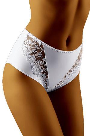 Wolbar Női alsónemű Gabe white + Nőin zokni Sophia 2pack visone, fehér, XXL