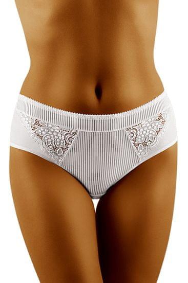 Wolbar Dámske nohavičky eco-FI white, biela, XL