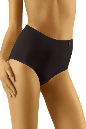 Wolbar Női alsónemű TAHOO - Maxi plus black + Nőin zokni Sophia 2pack visone, fekete, XXL