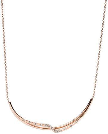 Fossil Bronzový náhrdelník JF02254791