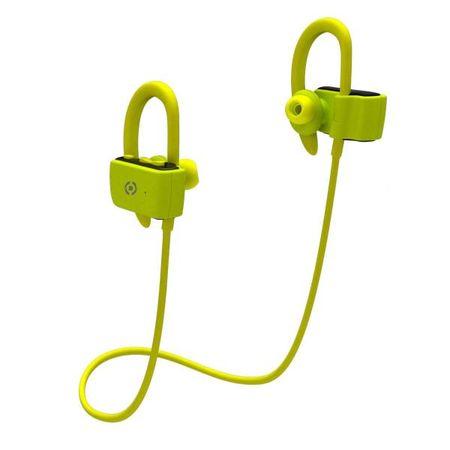 Celly Sportovní Bluetooth sluchátka BHSPORTPRO, žlutá (BHSPORTPROYL)