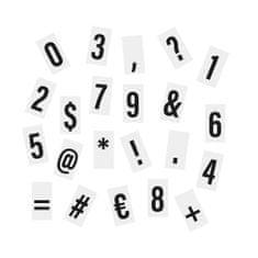 Butlers 90 číslic a znaků pro světelný box