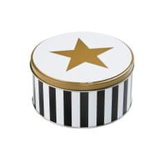 Butlers Dóza kulatá hvězda a pruhy 13,5 cm