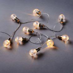 Butlers LED Světelný řetěz mini žárovky 10 světel