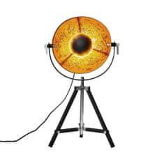 Butlers Stolní lampa 40 cm - černá/zlatá