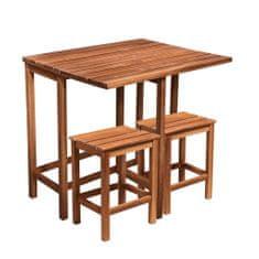 Butlers Balkónový set se 2 stoličkami