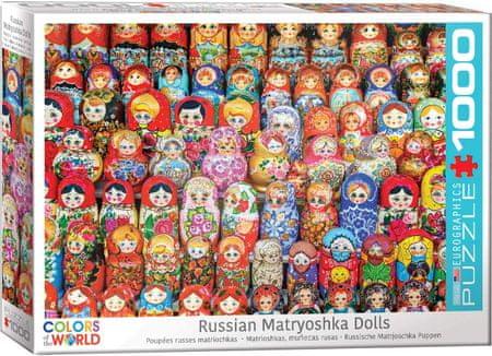 EuroGraphics Puzzle 1000 db Russian Matryoshka Dolls