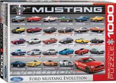 EuroGraphics Puzzle 1000 dílků Ford Mustang Evolution