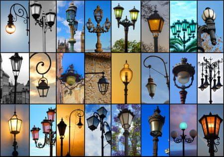 Grafika Puzzle 1000 db Collage - Lights