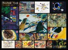 Grafika Kandinsky: Collage 2000 dielikov