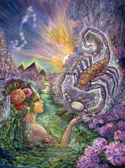 Grafika Josephine Wall: Zodiac Skorpion 2000 dielikov