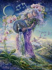 Grafika Josephine Wall: Zodiac Aquarius 2000 dielikov
