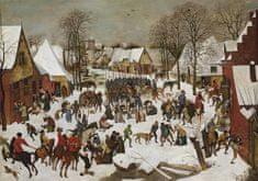 Grafika Brueghel: The Bethlehemite child murder 1000 dielikov