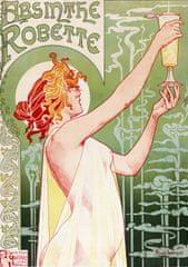 Grafika Puzzle 1000 db Alfons Mucha : Absinthe Robette, 1896