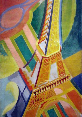 Grafika Puzzle 1000 db Robert Delaunay: Eiffel Tower, 1926