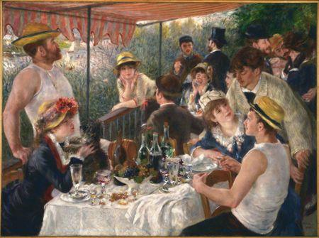 Grafika Puzzle 2000 db Auguste Renoir : Le Déjeuner des Canotiers, 1881