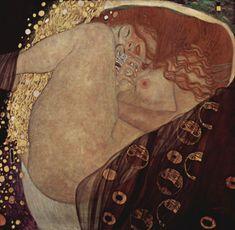 Grafika Puzzle 1500 dílků Gustav Klimt: Danaé, 1907-1908