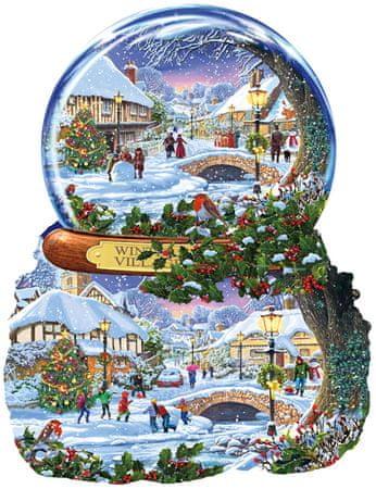 SunsOut Puzzle 1000 db Steve Crisp - Winter Village