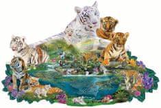 SunsOut Puzzle 1000 dílků Alixandra Mullins - Tigers at the Pool