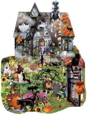 SunsOut Puzzle 1000 db Lori Schory - Spooky House