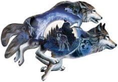 SunsOut Puzzle 1000 db Al Agnew - Moonlight Warrior