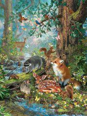 SunsOut Puzzle 1000 dílků Liz Goodrick Dillon - Out in the Forest