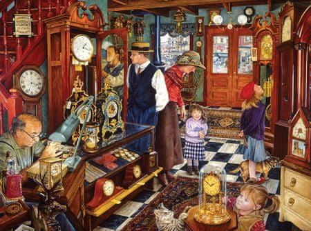 SunsOut Puzzle 1000 db Susan Brabeau - The Clock Shop